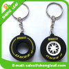 Custom Promotional Gift Soft PVC Key Ring (SLF-KC083)