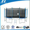 12FT Newest Deluxe Trampoline with Enclosure, Big Trampoline, Trampoline for Kids (TUV/GS)