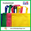 Promotional Drawstring Bag with Polyester Cord Color Customized