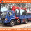 6 Wheels Truck Crane 2t 3t Truck Mounted Crane