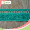4cm Eco Friendly Women′s Dress Green Italian Crochet Lace