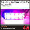 Red Blue Surface Mount Tri-4 LED Grill Lighthead