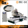 Four-Stage Atc CNC Router Engraving Cutting and Drilling Machine