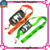 Customized Colorful Lanyard with Mobile Holder
