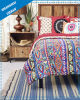 Bohemian Style Polyester Print Duvet Cover (Set)
