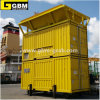 Containerised Mobile Bagging Unit for Packing Bulk Cargo