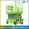 8m 10m 300kg Electric Mobile Hydraulic Scissor Lift with Ce