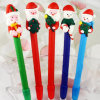 The Santa Claus Christmas Gift Pen Polymer Clay Pen (OEM LOGO Printing is available)
