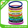 Cheap Promotional UV Sensitive Sport Silicone Bracelet with Custom Logos