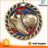 High Quality Custom Design Football Soccer 3D Medal with Glitter