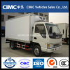JAC 4X2 5t Refrigerated Truck Cream Freezing Van Truck