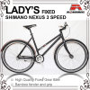Coaster Brake 700c Fixed Gear Bike for Lacy (KB-700C18)