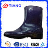 Shining Fashion Comfortable PVC Rain Boots for Children (TNK70014)