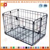 Stackable Supermarket Warehouse Wire Mesh Pallet Storage Container Cage (Zhra18)
