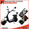 1000W Fat Tires Harley Electric Scooter City Coco Electric Scooters
