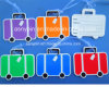 Customized Suitcase Shape Tag Suitcase Type Luggage Tag