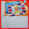 PVC Plastic National Hand Stick Flag