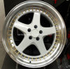 New Design White 15 16 17 18 19 Inch Aluminum Wheel Rim