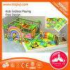 Guangzhou Colorful Indoor Playground Naughty Castle Maze