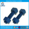 PTFE Material Alloy Steel /Steel Thread /Threaded Bolt