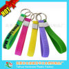 Customized Silicone Wristband with Key Chain (TH-3106)