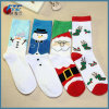 Christmas Sock with Santa Claus Colorful Christmas Present