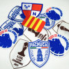 3D Flock Patch, Custom Tatami Background Soccer Flocking Patches, Flocking Patches Sports Team ...