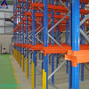 Warehouse Storage Pallet Rack Forklift Drive in Freezer Use Q345 Steel Cold Storage Racking