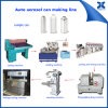 Semi-Automatic Aerosol Spray Tin Can Making Machine Production Line