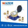 Horizontal Vane-Rotary Flow Meter
