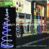 LED Rope Light Multi-Color Holiday Decoration LED Spiral Tree Lights