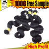 8A Quality Brazilian Jet Black Hair