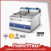 Stainless Steel 2-Tank 2 Basket Gas Fryer (HGF-62)