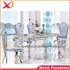 Restaurant/Banquet/Hotel/Wedding Furniture Dining Chair with Stainless Steel Frame