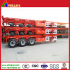3 Axle 40ton 40′ Ft Skeletal Container Semi Trailer