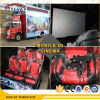 Attractive 12 Seats Mobile Trailer 7D Cinema Equipment in Europe