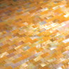 Yellowlip Shell Mosaic Tile, Golden Mother of Pearl (YMT-RE20)