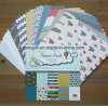 "DIY Scrapbooking 6X6"" Patterned Paper Pack Handmade Cartoon Scrapbook Paper"