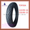 110/90-16 130/90-15 Tubeless 6pr Nylon Motorcycle Tyre