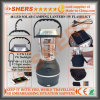 48 LED Solar Camping Lantern 1W LED Flashlight USB Outlet