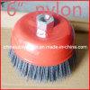6 Inch Nylon Abrasive Filament Cup Brush (YY-237)
