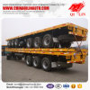 Heavy Duty Flatbed Semi Trailers with German Suspension