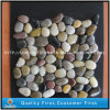 Mixed Color Natural Pebble on Mesh