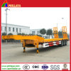 Three BPW Axles Low Loading Deck Excavator Trailer
