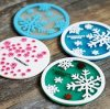 Heat Resistant Silicone Cup Mat, Silicone Rubber Drink Coasters, Design Cup Coaster