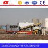 Advanced Mobile Concrete Batching Plant Machine to India