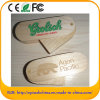 Swivel Wooden USB Flash Drive with laser Printed Customized Logo (EW601)