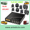 4/8 Channel 1080P Vehicle Security Monitoring Systems with Mobile DVR and Surveillance CCTV Camera & GPS Tracking