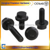 M6-M12 Carbon Steel Grade 8.8 Grade 10.9 Black Oxide Hex Flange Head Bolt DIN6921