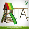 Play Tower with Swing, Slide, Climbing Rock (Rocket)